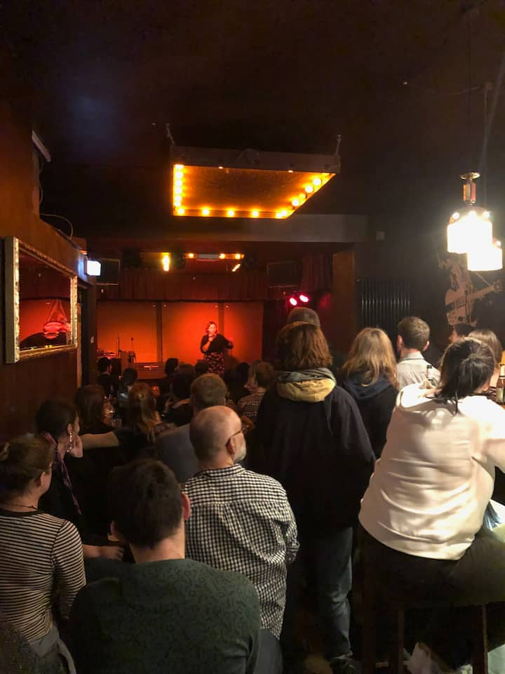 Full Packed Audience @ The Last Stand