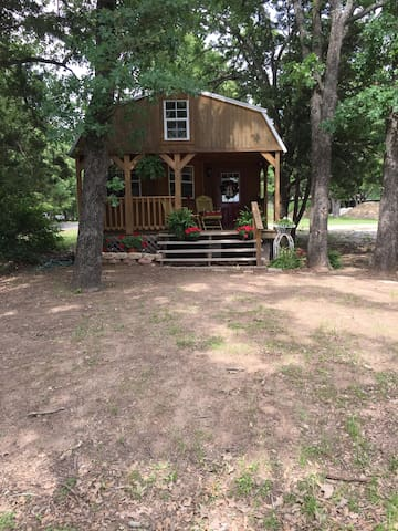 Cozy cabin with great lake views! - Mexia  - Hus