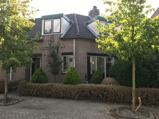 Spacious house in Hillegom, near Amsterdam & beach
