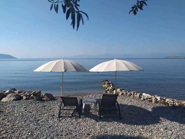 Kalafatis beach home 2(20 square - back  side)