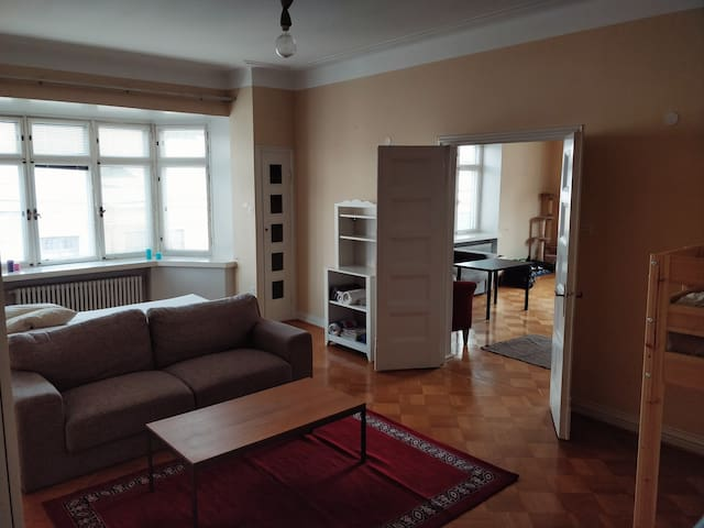 Private room in a shared apartment near the center