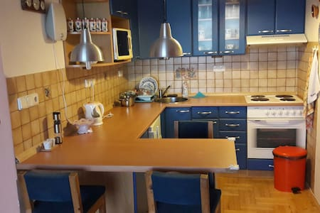 Comfortable flat with nice view - Prag - Wohnung