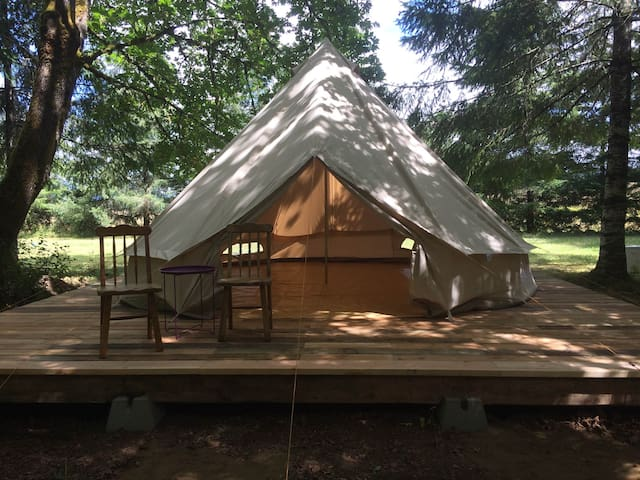 Bell Tent in Wine Country. - Philomath - Палатка
