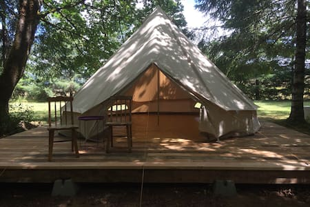 Bell Tent in Wine Country. - Philomath