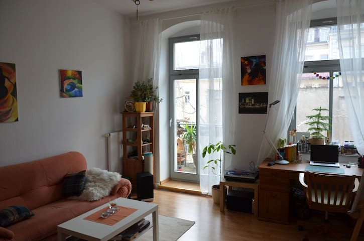 Welcoming apartment with balcony - Dresden - Apartmen