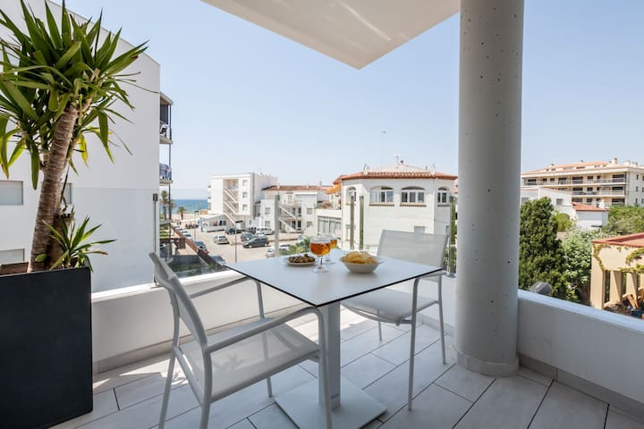 Vista Roses Mar - Luxury apartment in Roses, close to the beach with a seafront promenade - Roses - Leilighet