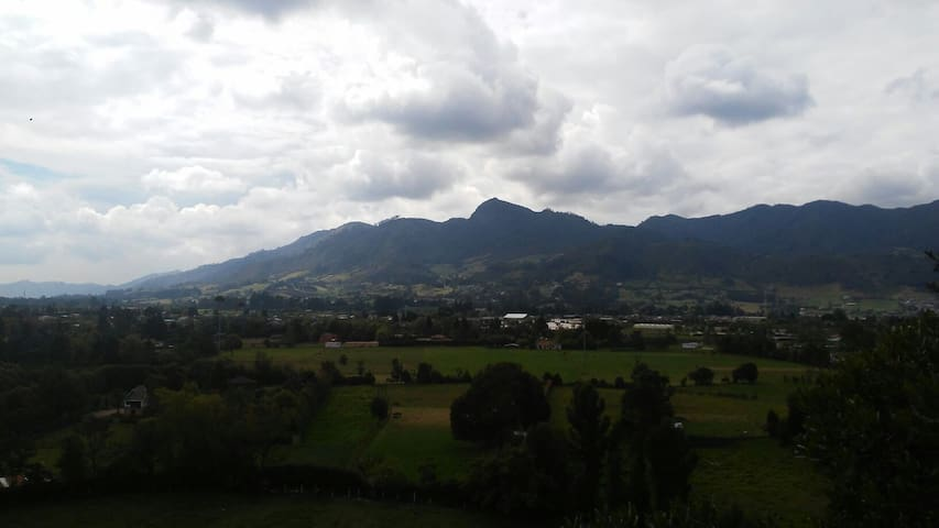Natural place!, just one hour from Bogotá.Tabio
