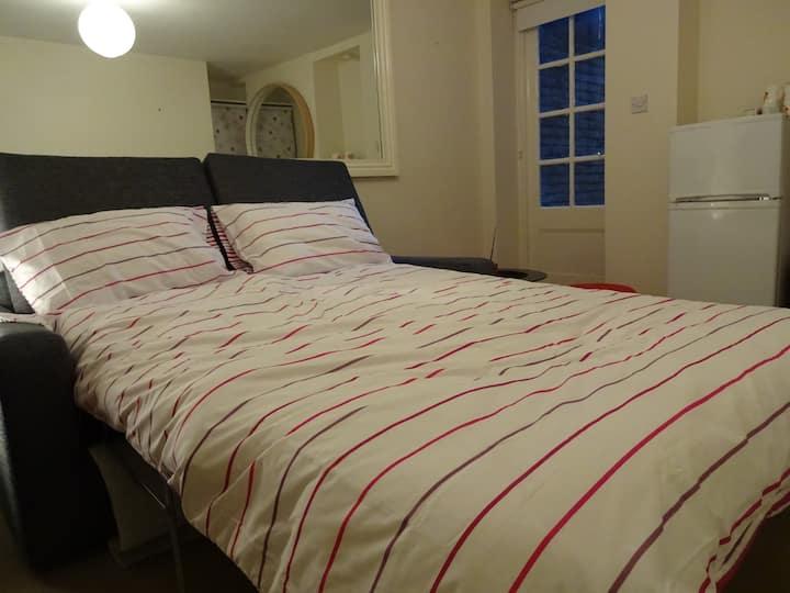 Room 5 mins Battersea Park.