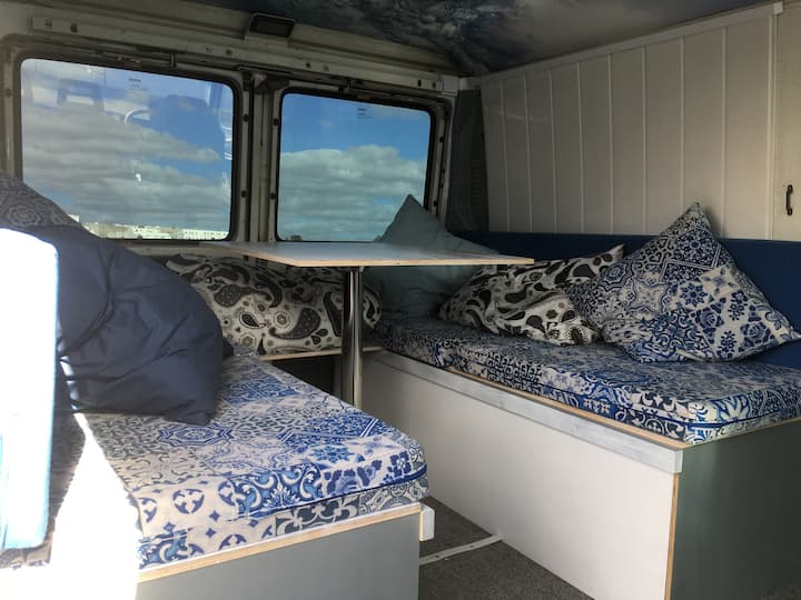 """""""La Blanquita"""" Camper Van"""