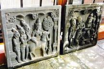 Sandstones Arts from Bali.