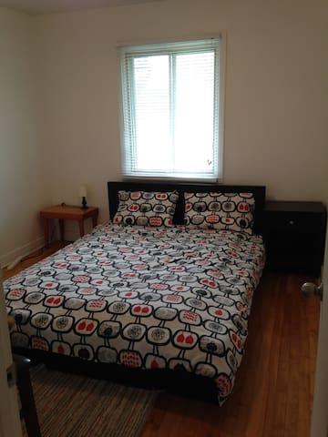 Belle chambre privé dans un appart sympa, Montréal - Montréal - Leilighet