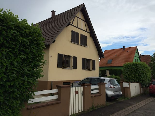 Furnished house in Plobsheim - Plobsheim - Casa