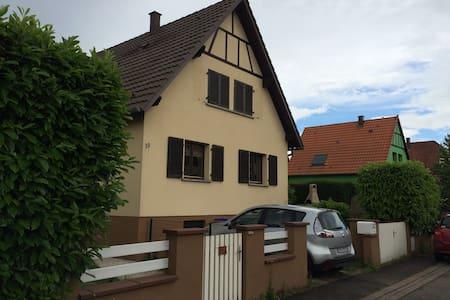 Furnished house in Plobsheim - Plobsheim - Hus