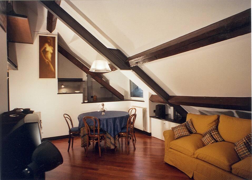 Il soggiorno - Living room