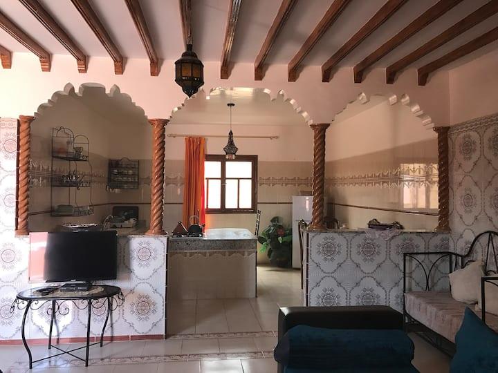 Grand Appart typique avec terrasse