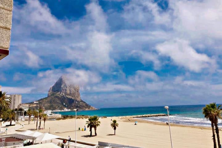 Ines-1 - oceanfront apartment in Calpe