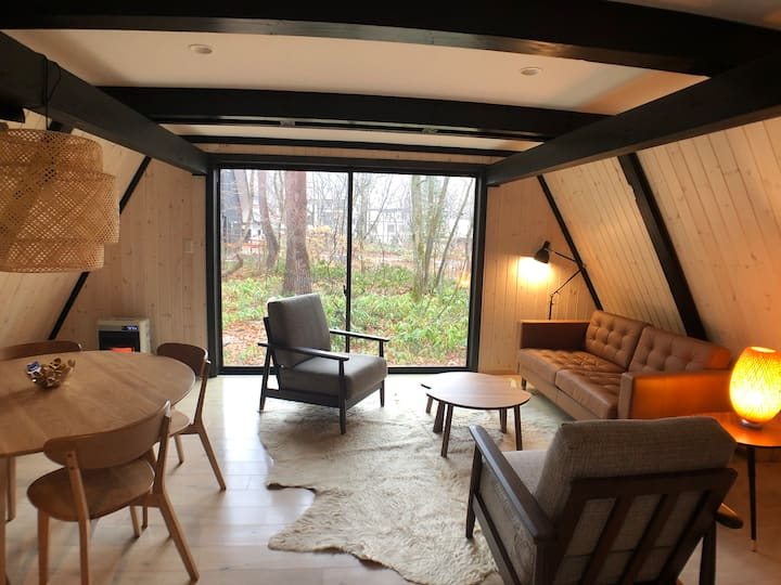 Sobae Sanso - Adorable A-Frame Cottage