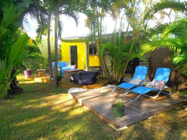 maison zen proche de la plage! - Sainte-Anne - Rumah