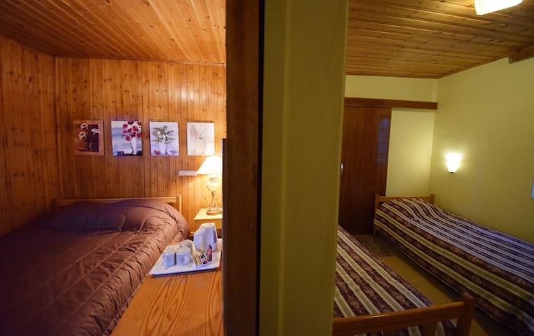 Family quadruplicate room