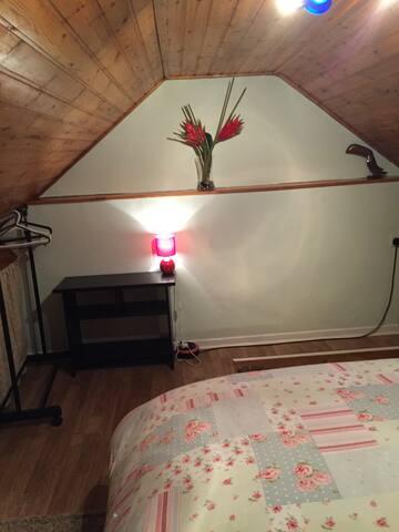 Double room/  single room.