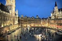250 meters from Grand Place
