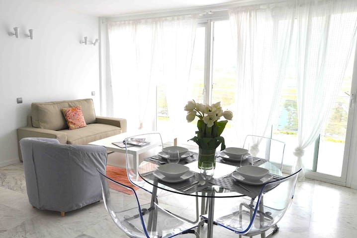Luxury 1 bedroom apartment in the Paseo Maritimo.