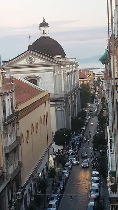 via Duomo ed il porto