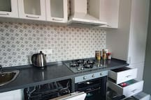 Completely furnished kitchen