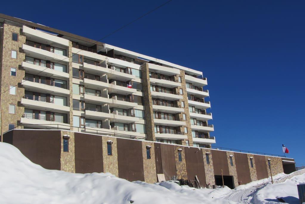 Vista edificio exterior