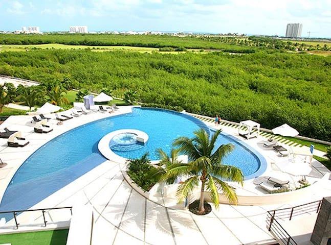 Hermosa habitación con baño privado en Cancun - Cancún - Apartment
