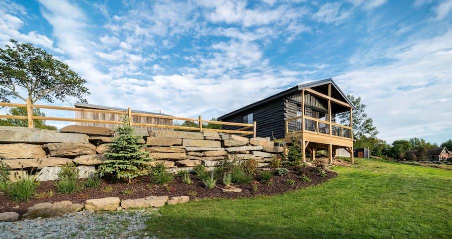 Camp Bluestone, King Cabin with BBQ Pavilion