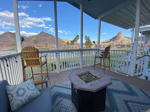 Tiny Home with STUNNING VIEW! Desert River Getaway