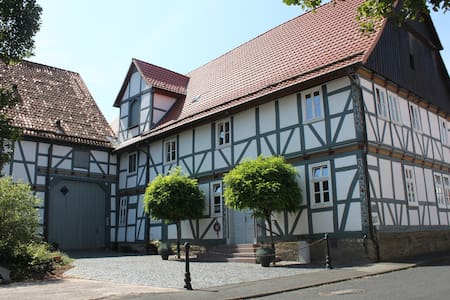 Historical Appartement - Old Farmhouse - Calden - Wohnung