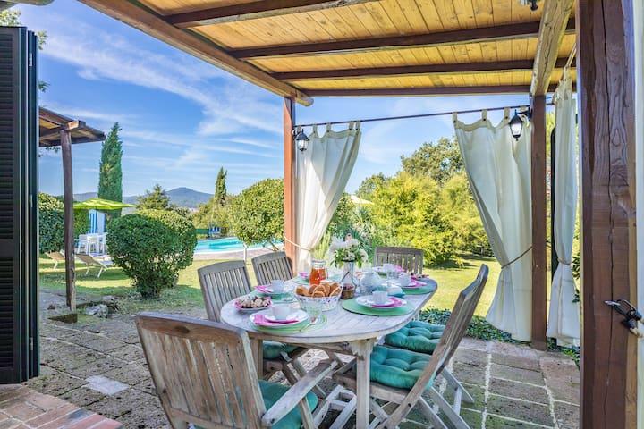 villa Renata in Siena countryside