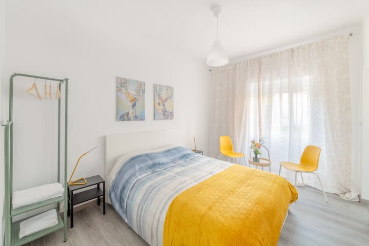 Double Room Yellow Private WC - Estrela do Almada
