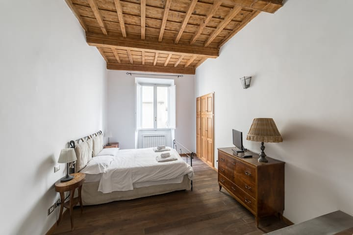 Your charming and spacious bedroom