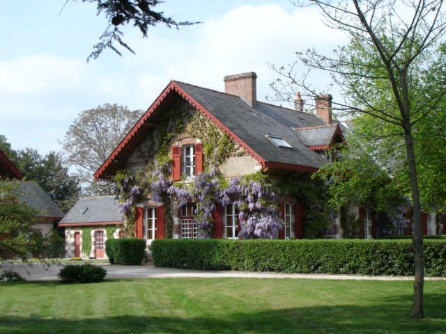 Lovely house & pool in Loire Valley - Mer - Haus