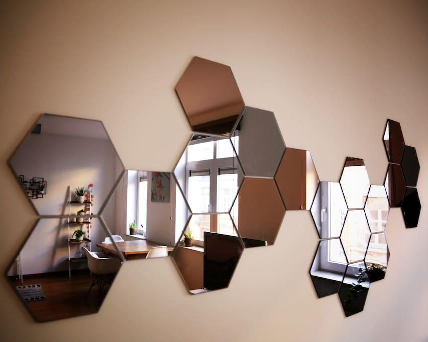 Quelques reflets de l'appartement !