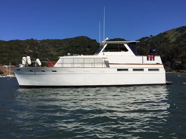 Large Classic Motor Yacht