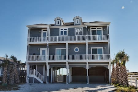 *Coastal Calm' Ocean Front 6 Br 5 Bth | Elevator | Private Pool | Handicap Friendly - Holden Beach