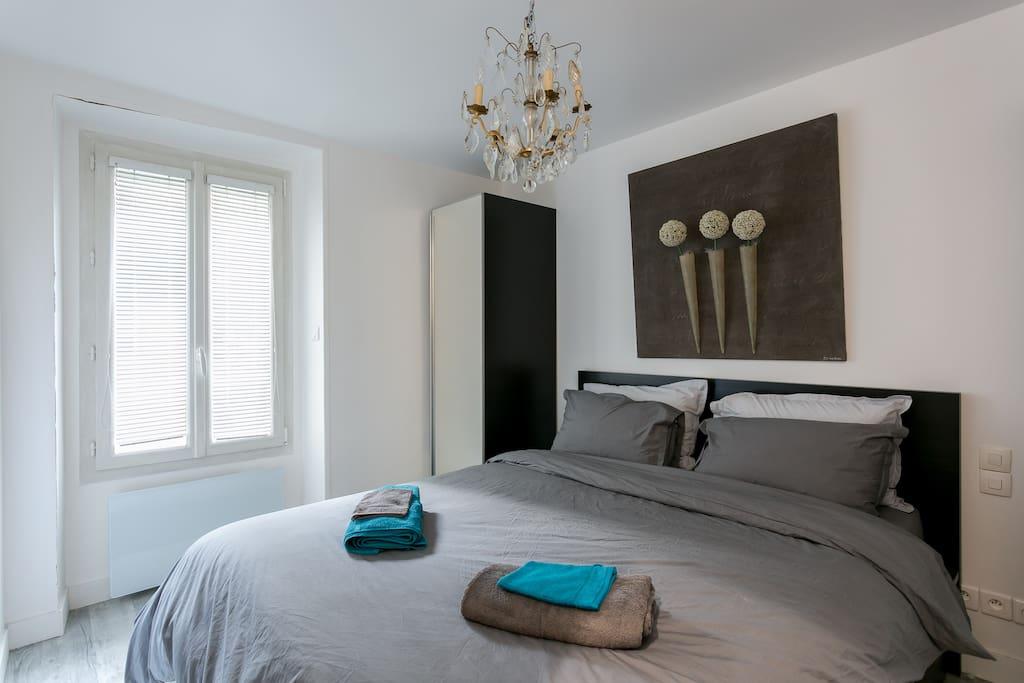 Chambre sur jardin Bedroom