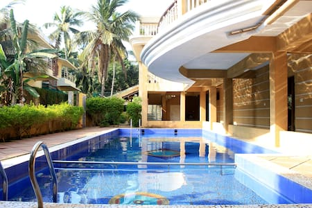 [Sanitized]Fabulous 1BHK With Wi-Fi Nr Baga Beach