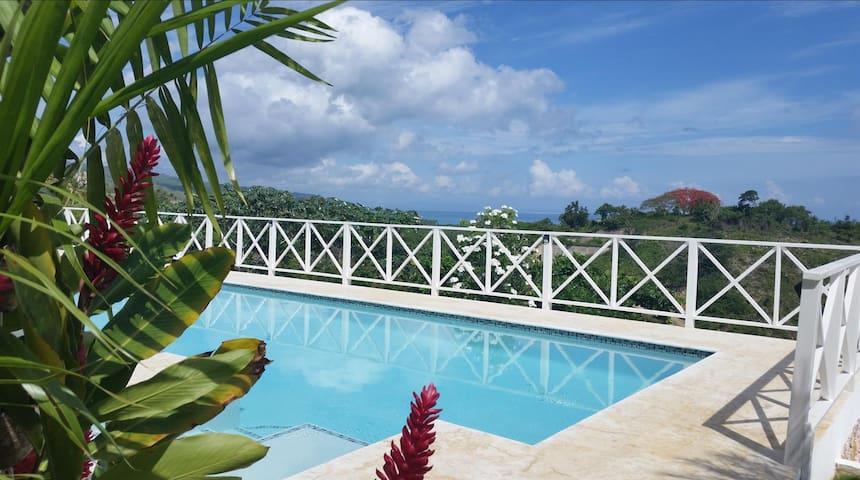 Villa Buena Vista beautiful sea views and 17m pool