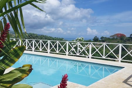 Villa Buena Vista lovely sea view private 17m pool