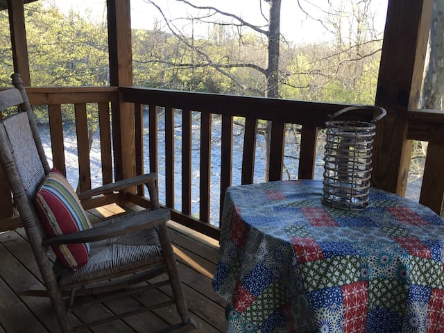 Rustic Comfort on the Little River in the Smokies!