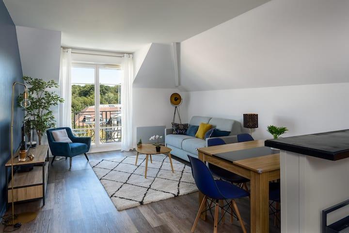 Apartement Epinette 2 bedroomed near Disneyland