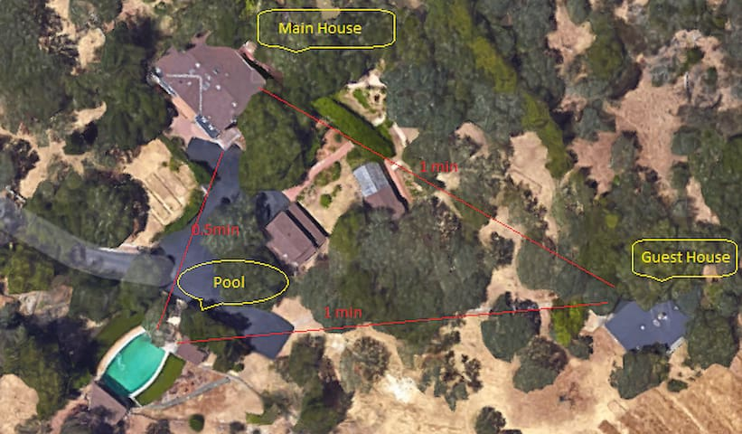 !Exclusive Sonoma Wine Country Getaway Estate