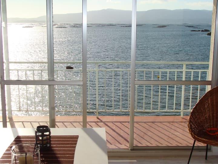 Apartamento al borde del mar vistas espectaculares