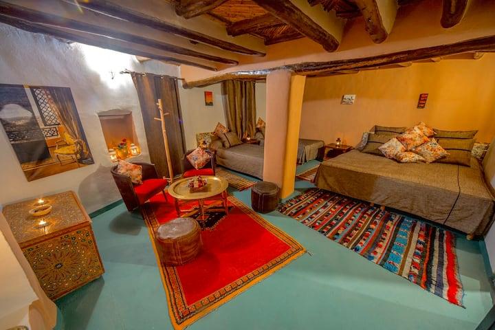 Family Room 4pax- Kasbah El Hajja