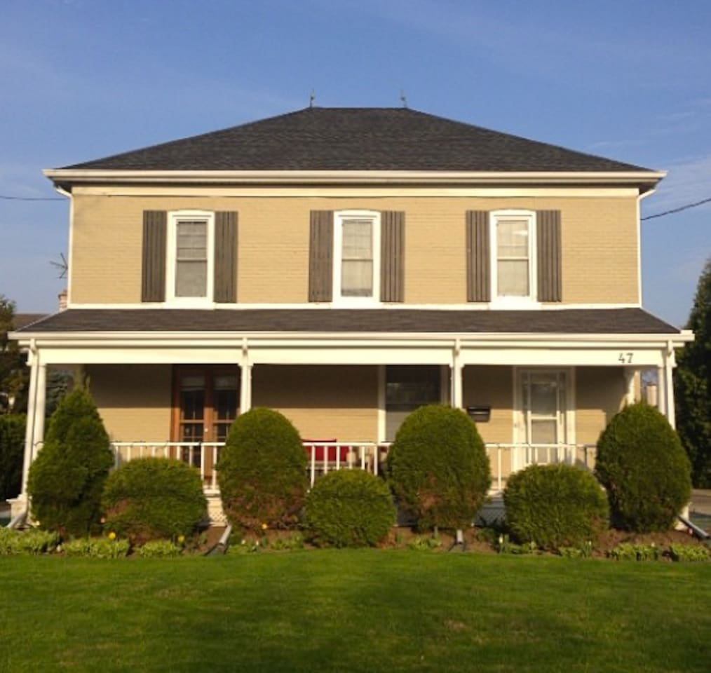 Beautiful 1904 Heritage Home.  (Suite is full upstairs.  Entrance through front door.)